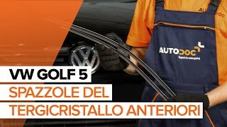 Come sostituire Tergilunotto VW GOLF V (1K1) - video gratuito online