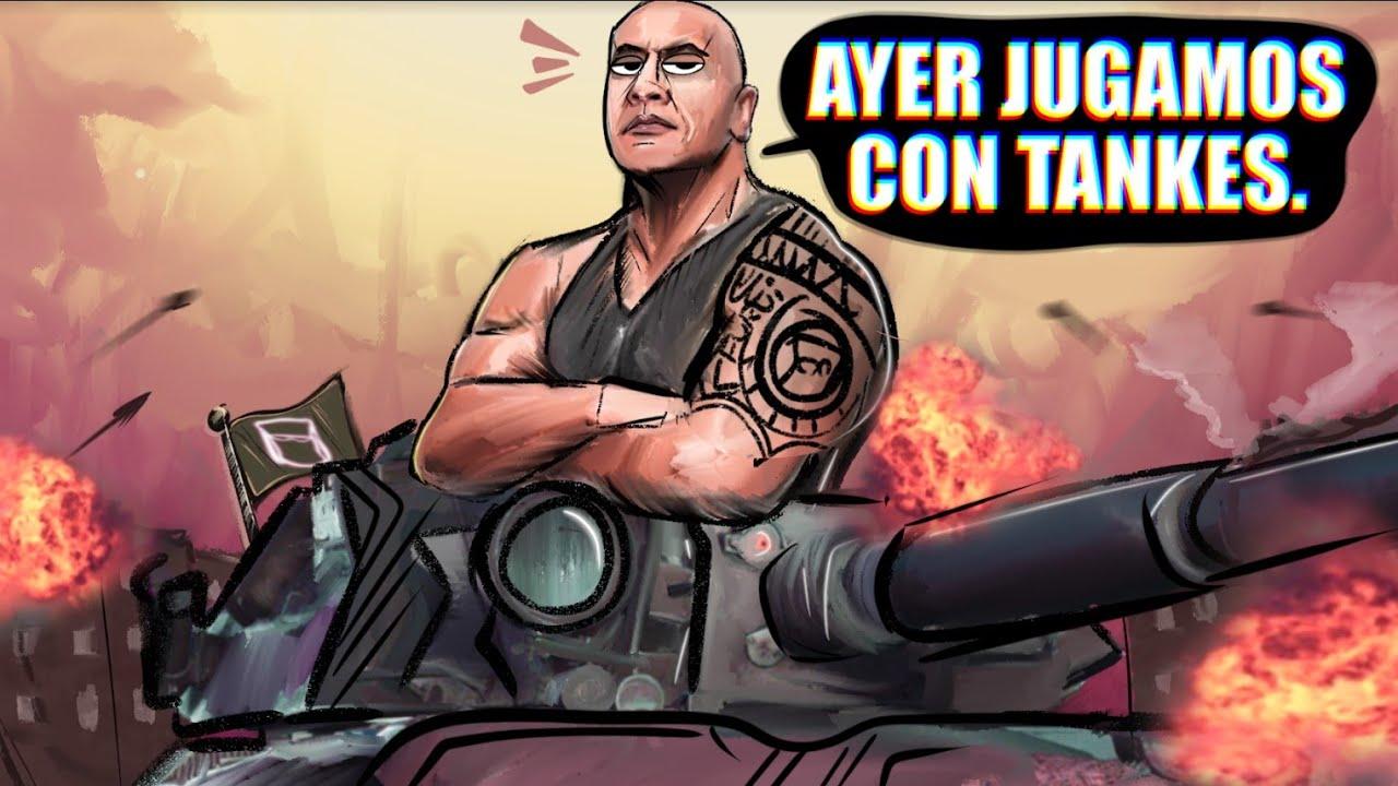 AYER JUGAMOS CON TANQUES 💥💥