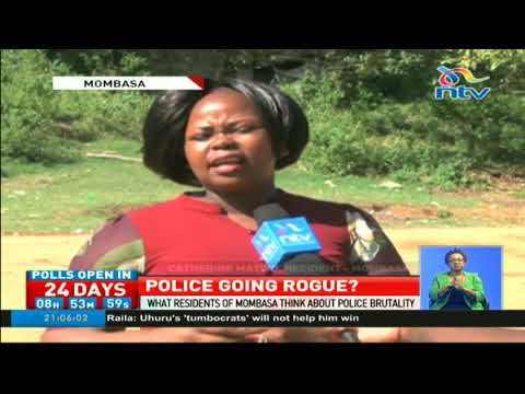 What residents of Mombasa think about police brutality