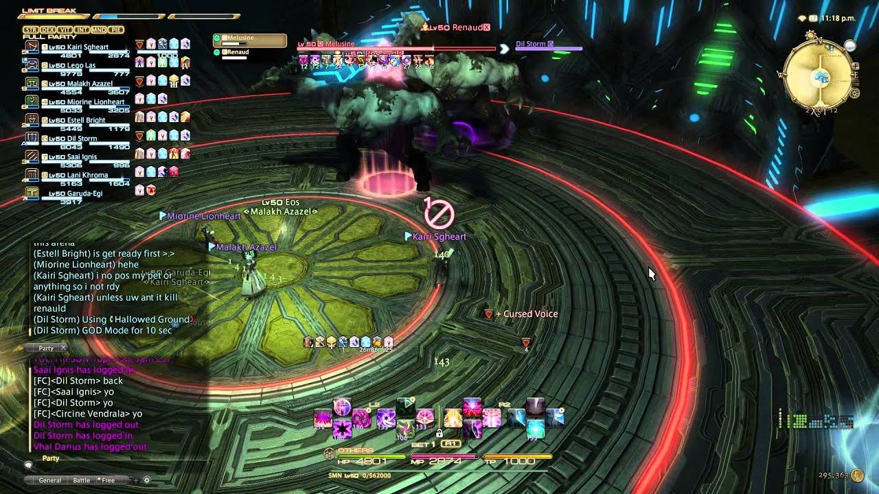 FFXIV: The Second Coil of Bahamut - Turn 2 Take 2 (Masamune) SMN - Stacking  Method