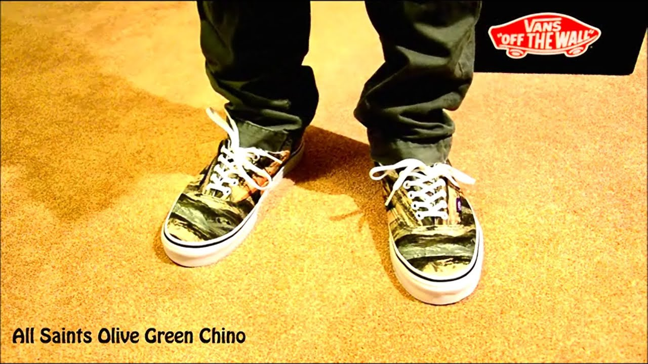 31b9257347 Vans Era x Liberty - Mountains Army On-Feet Only - YouTube