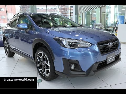 Subaru Xv 2 0i S Eyesight Blue Youtube