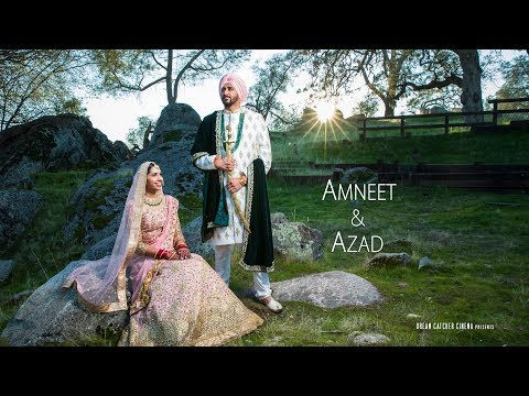 Ve Maahi | Amneet & Azad | Wedding & Reception Cinematic Highlights | Fresno, CA