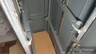 Обзор моего самодельного сейфа для оружия.