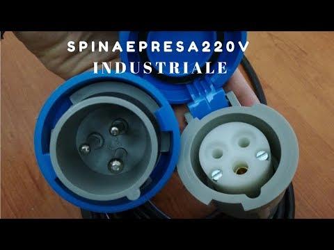 Come collegare una spina e presa 220 V industriale