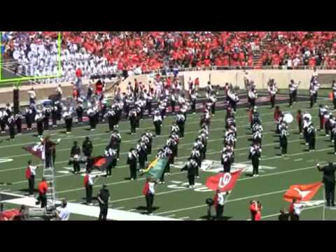 Texas Tech Goin' Band From Raiderland Pregame-9-4-10.wmv ...