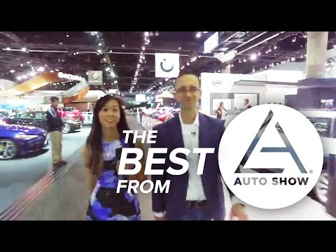 The Best Cars from the 2016 LA Auto Show