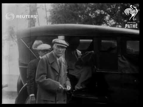 A day in life of John D. Rockefeller (1924)
