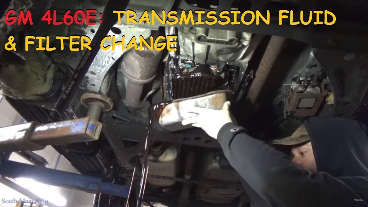 trailblazer envoy rainier transmission fluid filter replacement 4l60e [ 1280 x 720 Pixel ]