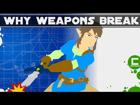 Why Your Weapons Break In The Legend Of Zelda: Breath Of The Wild || Deconstructing Game Design
