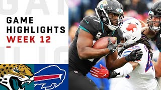 Jaguars vs. Bills Week 12 Highlights   NFL 2018