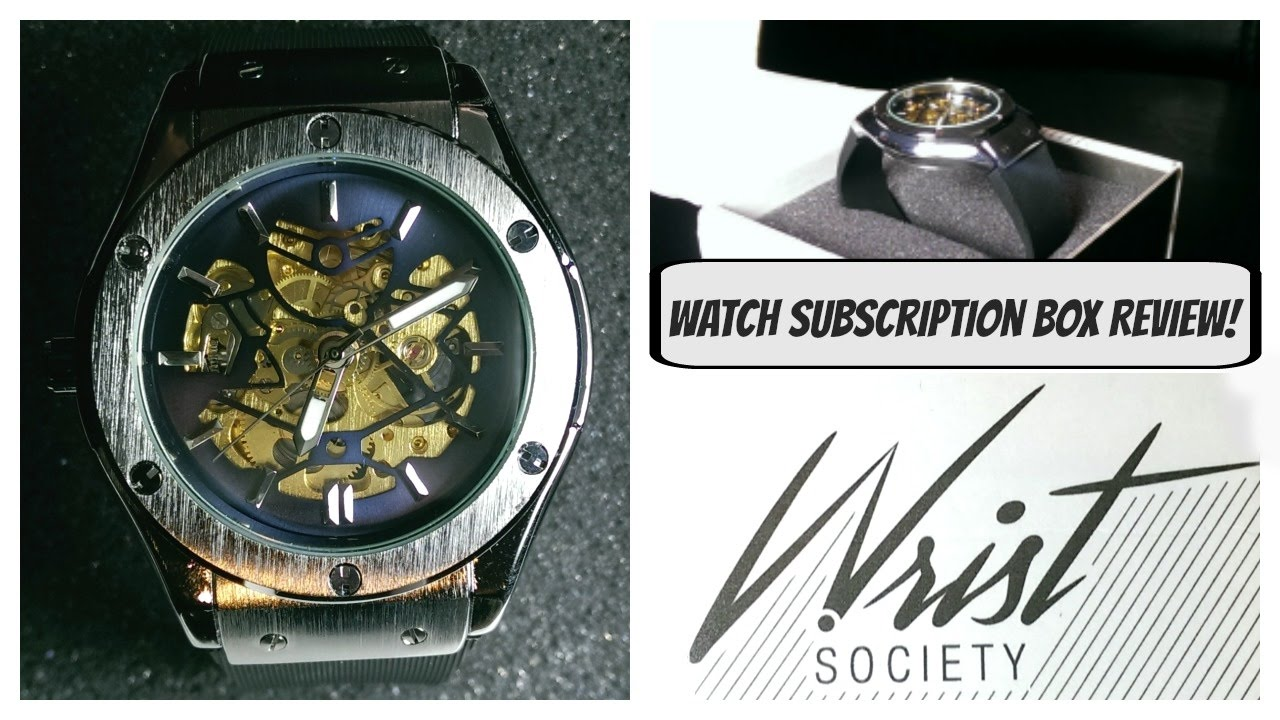 watch subscription box review wrist society youtube