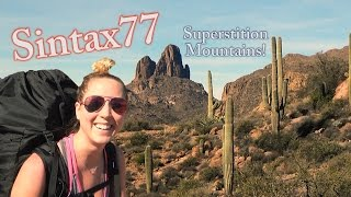 Hiking the Superstition Mountains - Desert Backpacking in Arizona