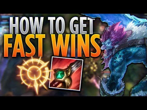 Tarzaned | HOW TO GET FAST WINS WITH TRUNDLE JUNGLE!