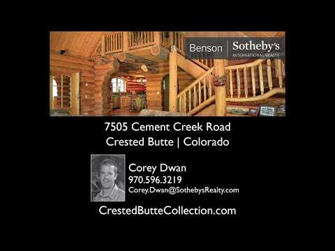 Crested Butte Real Estate - 7505 Cement Creek Road, Crested Butte, Colorado