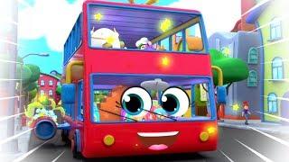 Wheels On The Bus | Nursery Rhymes Songs For Kids | Children Rhyme