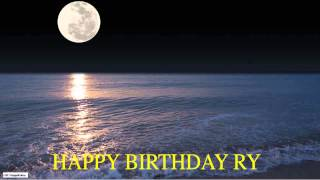 Ry  Moon La Luna - Happy Birthday