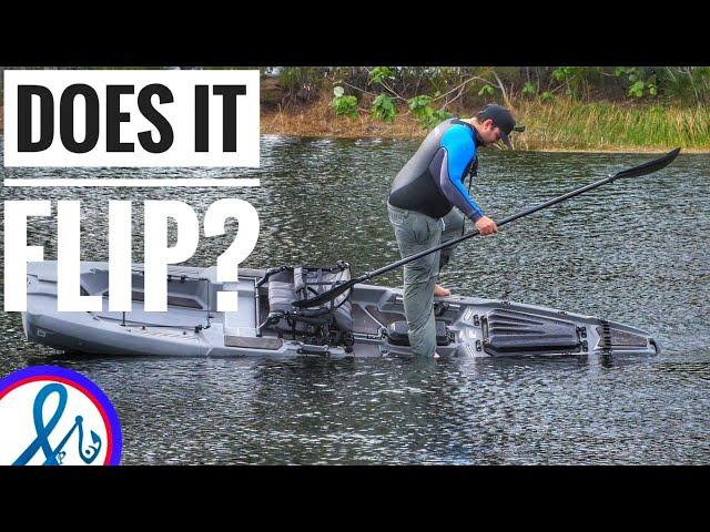 Bonafide Kayaks SS127 CRAZY STABILITY TEST DOES IT FLIP?