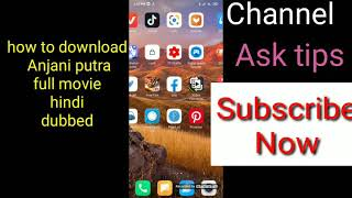 How to Download New South Indian movie Anjani putra (2020)