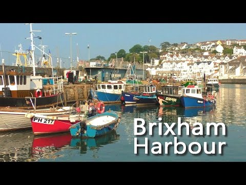 Brixham Harbour on a Summer Day