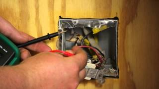 How to Troubleshoot a Wall Switch for a Ceiling Fan : Ceiling Fan Projects
