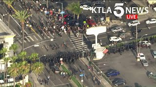 Protesters crowd Los Angeles streets, continuing unrest over George Floyd killing | Part 2