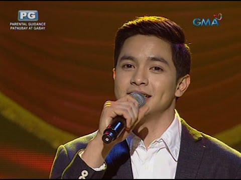 Alden Richards sings 'Thinking Out Loud' on 'Eat Bulaga'