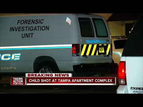 Mychal Maguire - 3-Year-Old Boy Shot At Tampa Apartment Complex