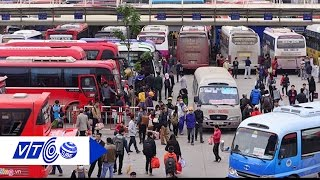 Xe khách Mỹ Đình đình công, hành khách ngơ ngác | VTC