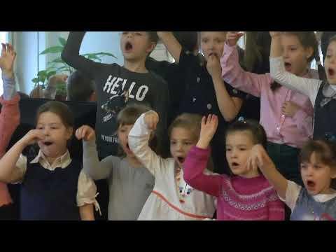 Урок хора в музыкальной школе видео