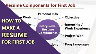 How to Make a Resume for First Job in Software Industry | Entry-Level Resume