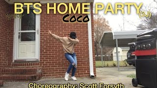 BTS Home Party Unit Stage'삼줴이(3J)'-CoCo_Dance Cover By: Thonia Cil