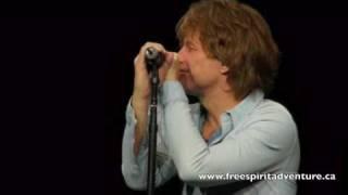 Bon Jovi Detroit Classy Recovery from forgetting lyrics Hallelujah