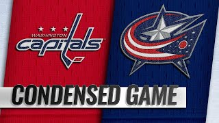 12/08/18 Condensed Game: Capitals @ Blue Jackets