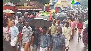namajapa goshayathra pandalam in protest to sabarimala women entry 021018 jaihind tv