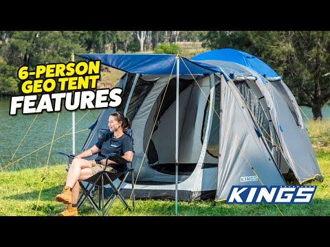 Adventure Kings 6 Person Geo Tent Features