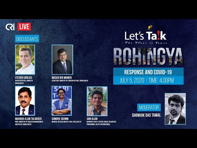 Let's Talk on Rohingya Response and COVID-19