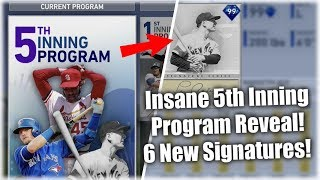 Insane 5th Inning Program Reveal! New Legend And 6 Signature Cards! MLB The Show 19 Diamond Dynasty