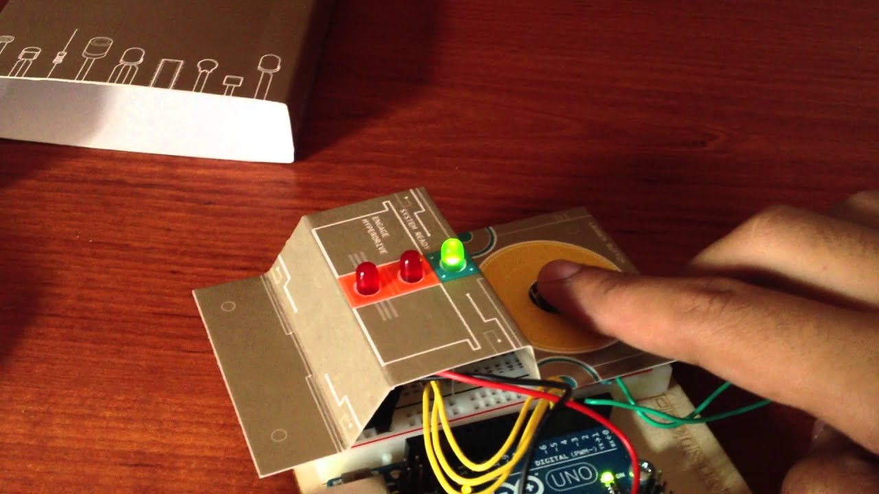 Arduino projects book project spaceship interface