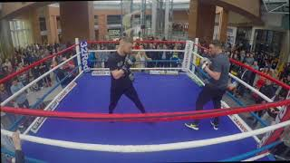 HIGHLY RATED LEWIS CROCKER HAMMERS THE PADS AHEAD OF CLASH IN BELFAST / FRAMPTON-DONAIRE