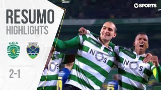 Highlights | Resumo: Sporting 2-1 Chaves (Liga 18/19 #10)