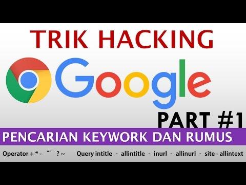 Trik Tersembunyi Pencarian Google | Teknik Google Hacking (part 1)