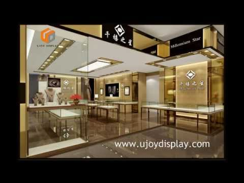 Jewelry Store Design and Display Furniture Gallery--UjoyDisplay.com