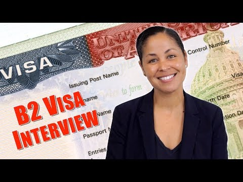 US Tourist Visa Interview - What Documents To Take To B-1/B-2 Interview (Part 1)