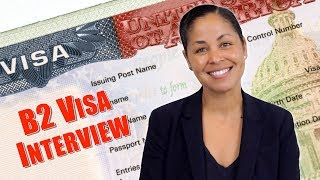 US Tourist Visa Interview - What documents to take to B-1B-2 interview Part 1