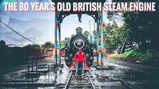 The 80 year's OLD BRITISH STEAM ENGINE running hot.!!  (Hand madeChocolate Factory, Toy Train Ooty)