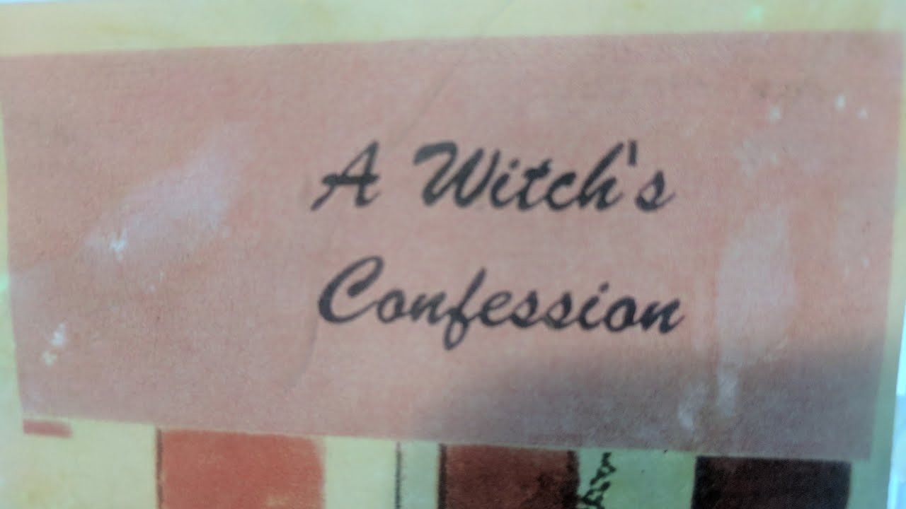 A Witch's Confession [VHS] [199?] [Satanic Found Footage]