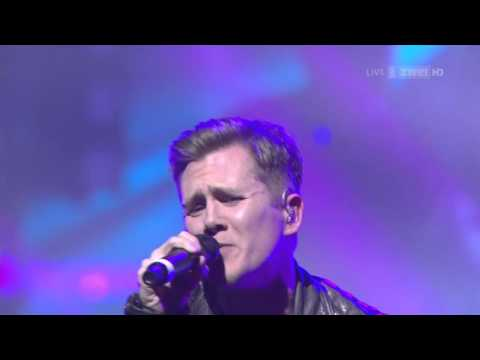 Robin Schulz & J.U.D.G.E. - Show Me Love (Swiss Music Awards 2016 - SRF2 HD 2016 feb12)
