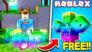 COMMENT GET EASY RAINBOW PETS IN ROBLOX PET SIMULATOR!