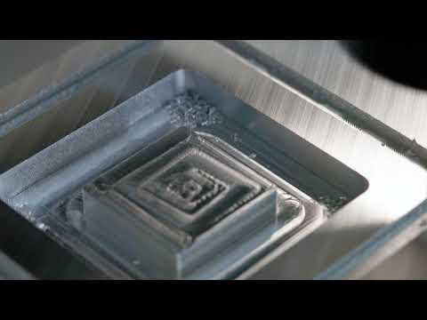 VOLTER S100 CNC Router, processing of aluminum